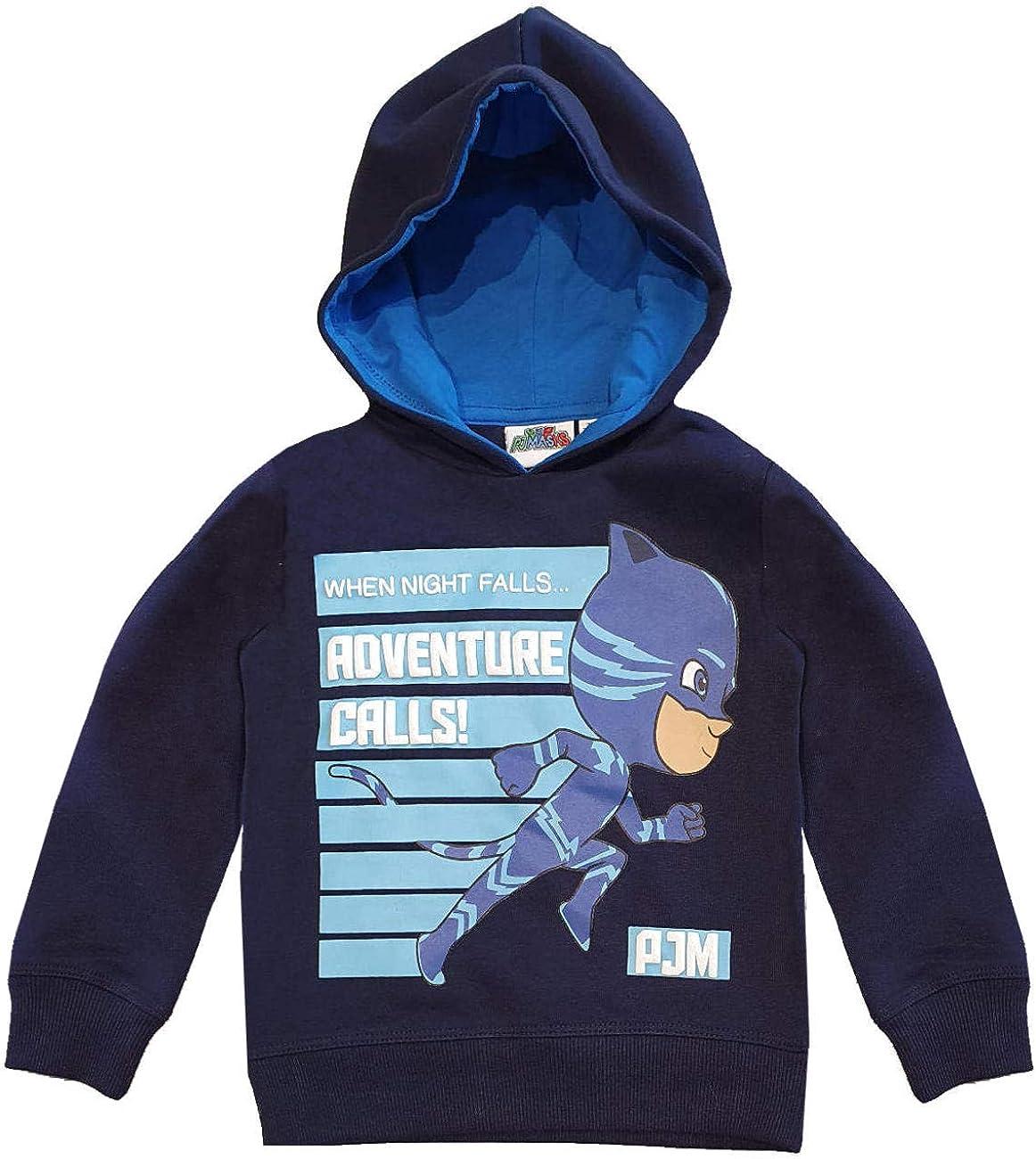 PJ Masks Boys (2-8) Sweatshirt Hoodie Catboy - Blue - 7-8 Years