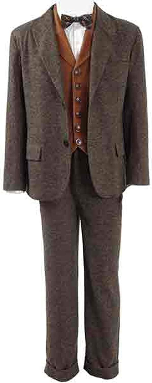 LP-FACON Fantastic Beasts Newt Scamander 3 Piece Brown Suit