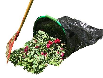 Amazon.com: LEAF GULP convierte una bolsa de césped y hojas ...