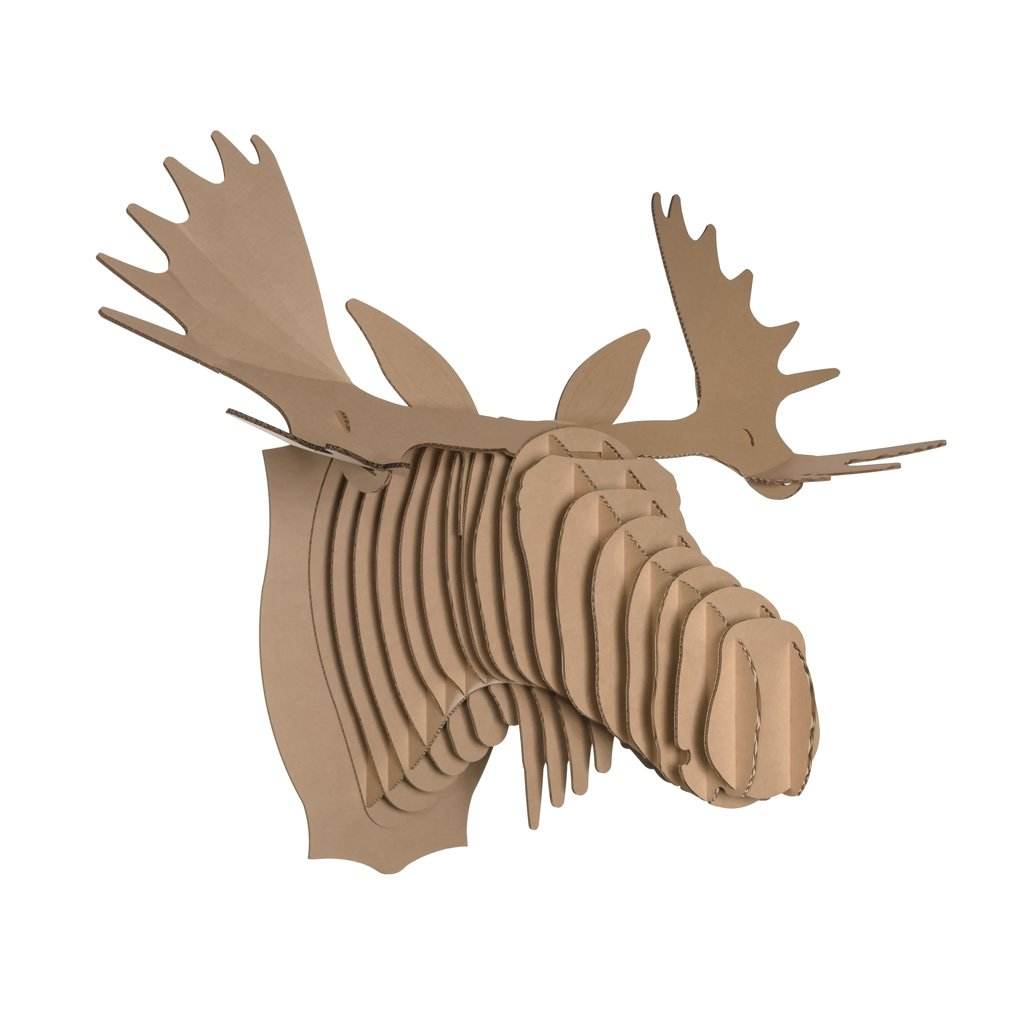 List o 5 best cardboard heads list o 39 5 - Cardboard moosehead ...