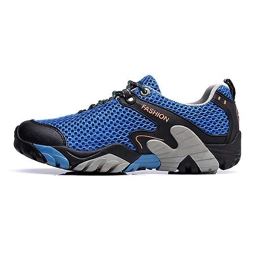 Zapatillas de Deporte para Hombres Zapatillas Deportivas para Correr Zapatillas para Caminar al Aire Libre Malla Entrenadores cómodos para Hacer Ejercicio ...