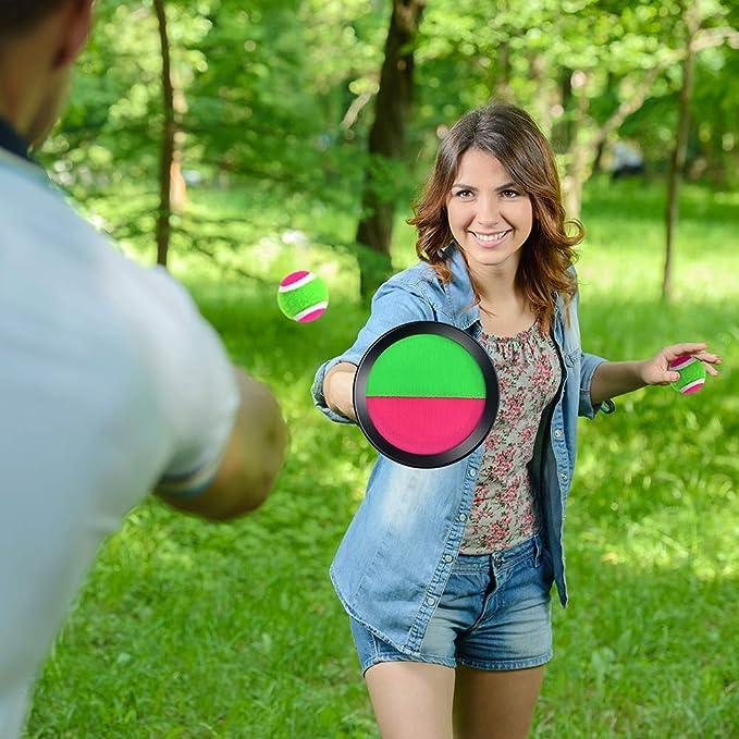 WXJ13 Juego de 4 Juegos de Pelotas de Golf y lanzamientos con ...