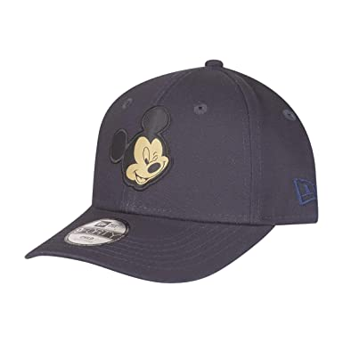074f9dcdb96 New Era Kids 9FORTY Mickey Mouse Baseball Cap Kids Character - Navy-Gold   Amazon.co.uk  Clothing