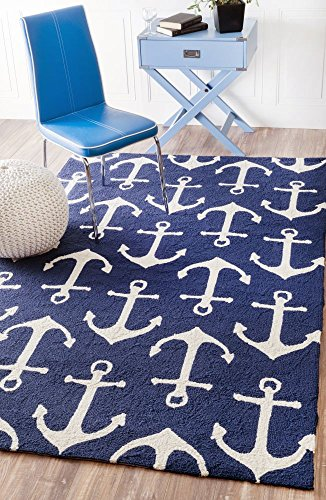 Cheap Wharton Navy Area Rug