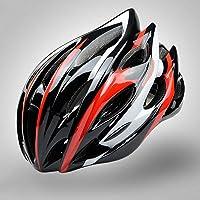 DEI QI Casco de Ciclismo, de una Pieza, Casco de Ciclista de Bicicleta de montaña, Ultra Ligero para Hombres y Mujeres