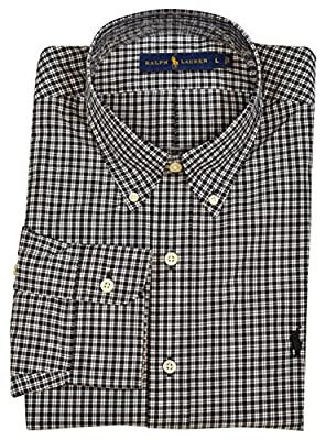 Polo Ralph Lauren Mens Classic Fit Button-Down Dress Shirt