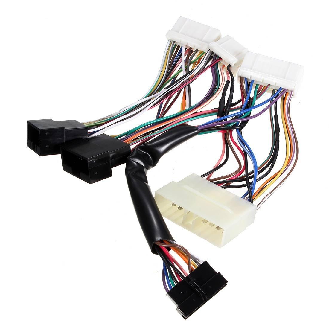 AUDEW OBD0 OBD1 Conversion to ECU Jumper Wiring Harness Adaptor for ...