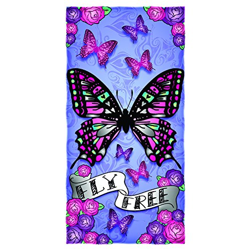 Butterfly Fly Free Cotton Beach - Beach Butterfly Towel