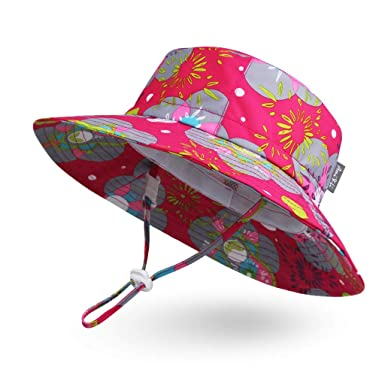 029b45ba68 Ami Li tots Adjustable Outdoor Sun Hat Water-Proof Bucket Boonie Fishing  Cap for Baby Toddler