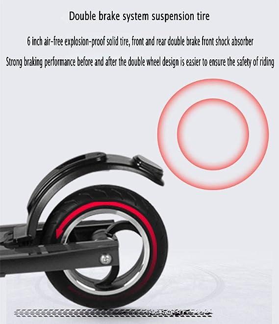 YIWANGO 200W Scooter Electrico Pantalla LED Multifunción La ...