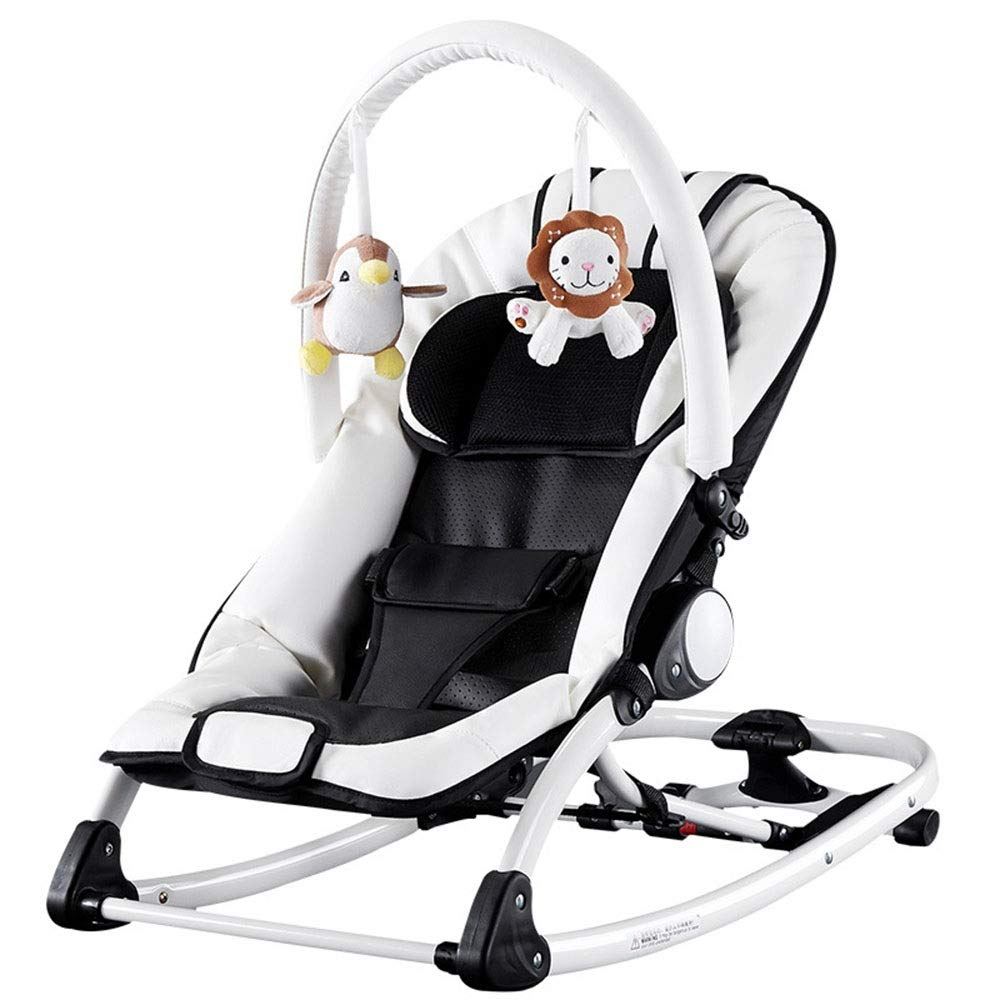 Yuehjnba Baby Rocking Chair Baby Cradle Baby Sleepy Rocking Chair Child Comfort Rocking Chair Multi-Function Small Shaker Suitable for Male and Female Babies A Nice Gift for Babies by Yuehjnba