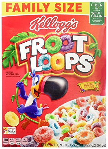 Kellogg's Froot Loops Cereal - 21.7 Ounce