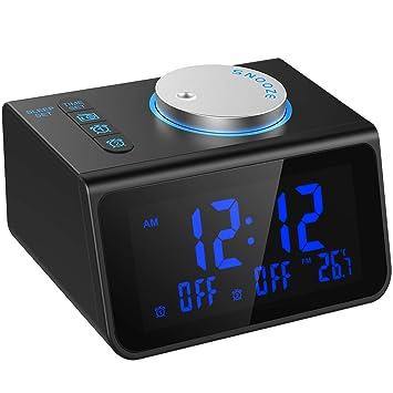 Amazon.com: LATME - Radio despertador para personas con ...