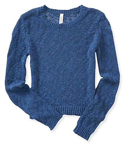 Aeropostale Womens Cropped Pullover Sweater