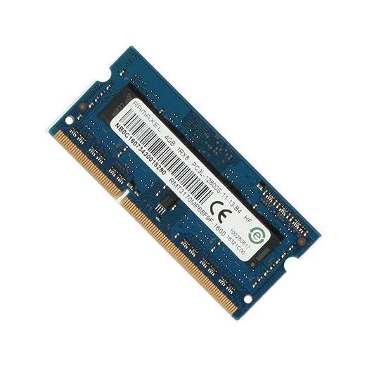 RAMAXEL RMT3170EB68F9W-1600 4GB DDR3 1600 SODIMM LAPTOP RAM MEMORY GENUINE Memory at amazon