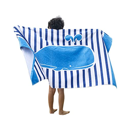 Microfibra de algodón para bebé toalla de playa Baño Natación suave Quik dry 16080 cm