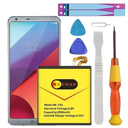 Amazon.com: LG G6 Battery, (Upgraded) Euhan 3500mAh Li ...