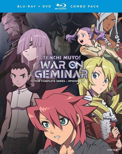 Blu-ray : Tenchi Muyo! War on Geminar: The Complete Series (With DVD, Boxed Set, , 9 Disc)