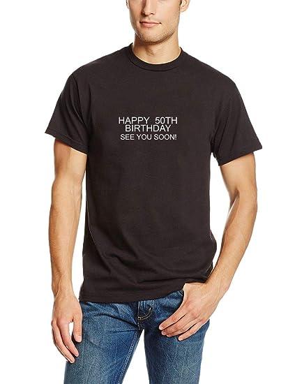 Camisetas Hombre Verano Camisas 50 cumpleaños Divertido ...