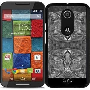 Funda para Motorola Moto X (Génération 2) - Jengibre En Escala De Grises by BruceStanfieldArtist