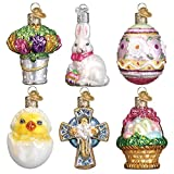 Old World Christmas Glass Blown Ornaments Mini Easter Set (14021)