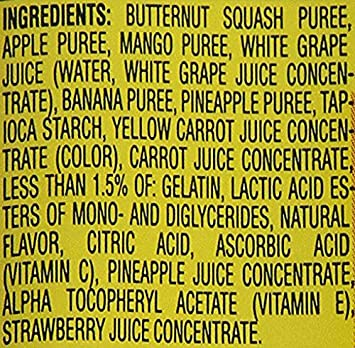 Graduados, Fruit Veggie derrite, mezcla verdaderamente tropical, 1,0 oz (28 g) - Gerber: Amazon.es: Amazon Pantry