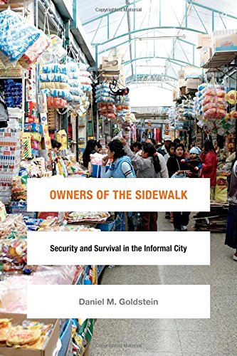Download Owners of the Sidewalk: Security and Survival in the Informal City (Global Insecurities) ebook