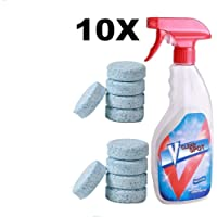 DeWin Spray Efervescente Multifuncional Spry Cleaner Set con Botella, para la Limpieza del hogar, 10pcs / Set