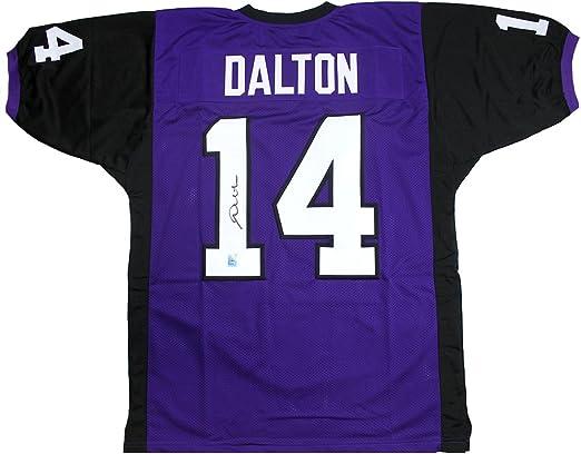 andy dalton autographed jersey