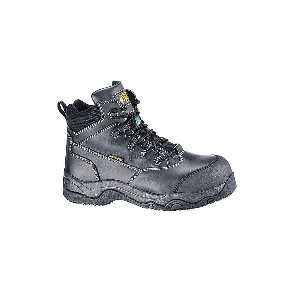 Shoes For Crews - 8280HW - Work Boots, Unisex, 8, D, Black, Plastic, PR