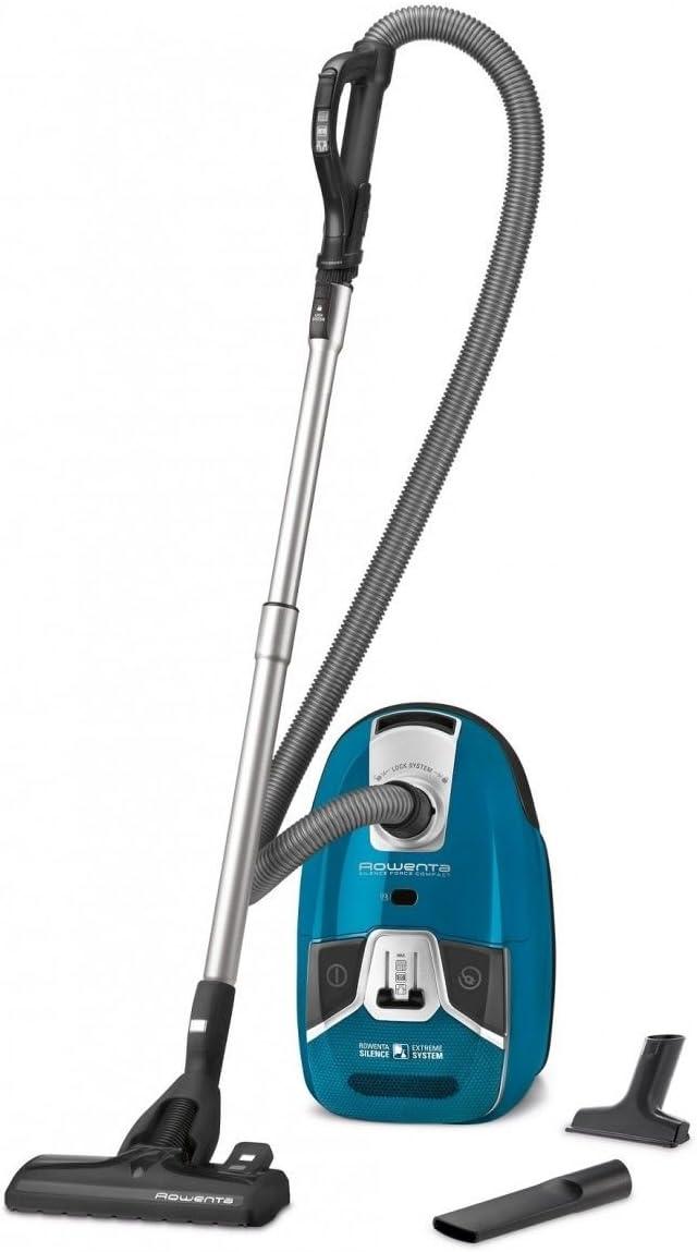 Rowenta Silence Force - Aspirador con bolsa, 3.5 L, 750 W, color azul: Amazon.es: Salud y cuidado personal