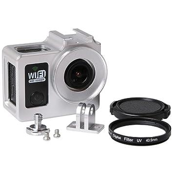 SJ4000 con carcasa de aleación de aluminio 40,5 mm Filtro UV ...