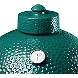 Big Green Egg Ceramic Chimney Cap, Large/XL Green Egg Accessories Ceramic Grill Damper Top BGE Replacement Parts