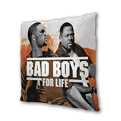 "NOT BRAND Bad Boys for Life Outdoor/Indoor Cushions 18.5""x 18.5"", 2 Pieces: Home & Kitchen"