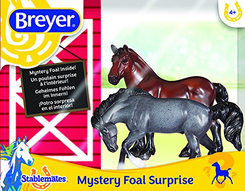 (Breyer Mystery Foal Surprise Horse Box Toy)