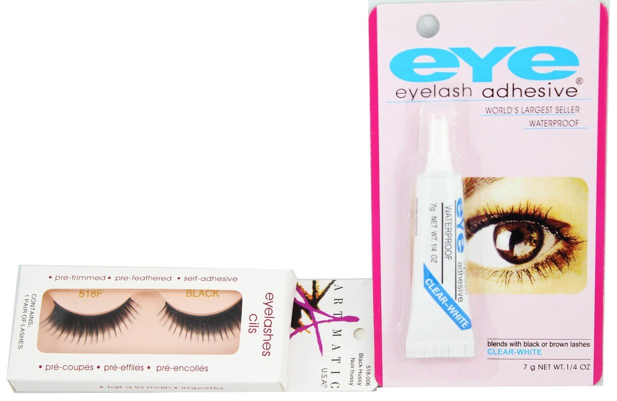 7162f14d5cc Buy False Eye Lashes With Eey Glue No=6 Online at Low Prices in India -  Amazon.in