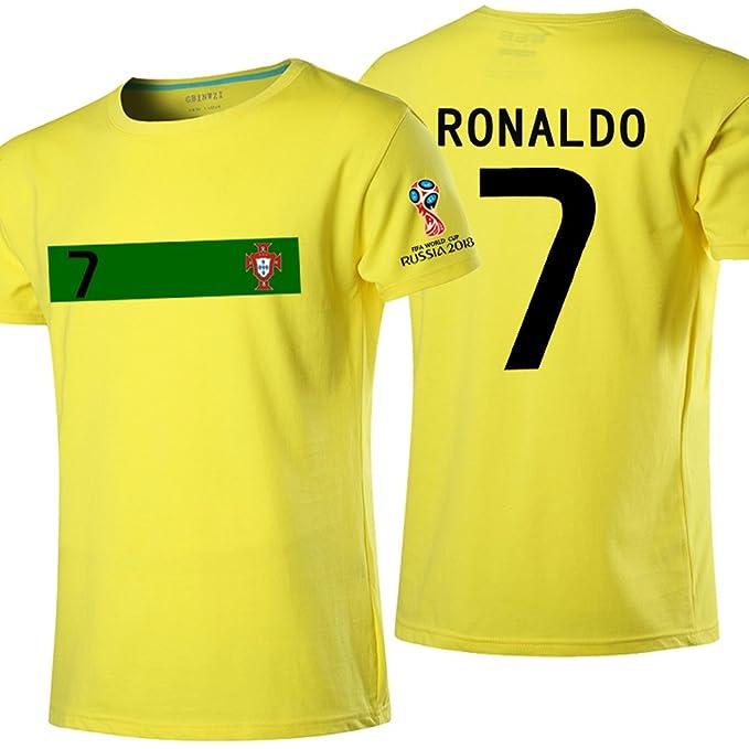size 40 0e36c d25fa 2018 Russia World Cup Portugal Jersey (Cristiano Ronaldo # 7 ...