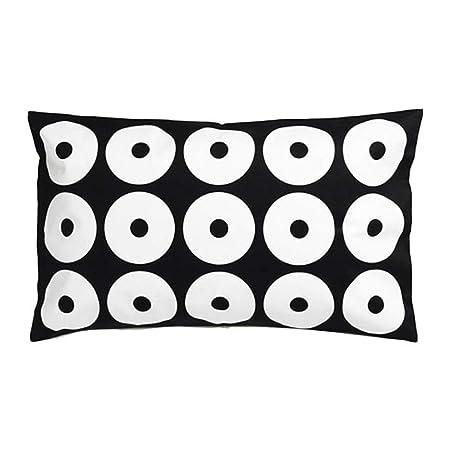 Ikea Sippruta 304.371.37 - Funda de cojín, Color Negro ...