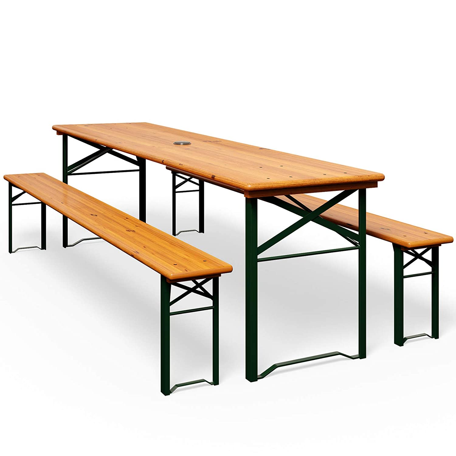 Benches/Stools Antiques VINTAGE GARDEN INDUSTRIAL BEER FESTIVAL PUB CAFE TABLES AND BENCHES GERMAN