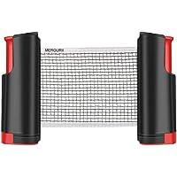 Red De Tenis De Mesa Portátil Retráctil Table Tennis Net Red De Ping-Pong para Entrenamiento Deportes De Interior Al…