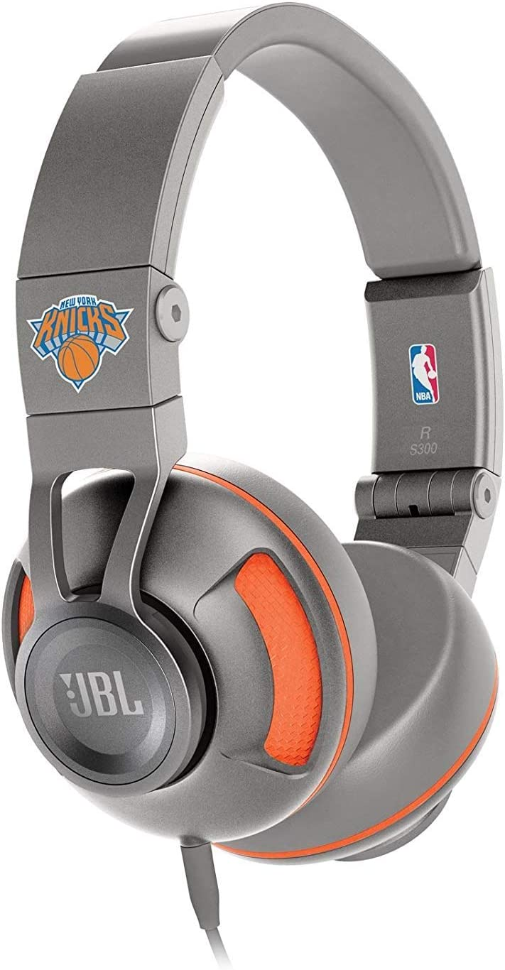 JBL S300 New York Knicks Premium On-Ear Stereo Headphones with Universal Remote