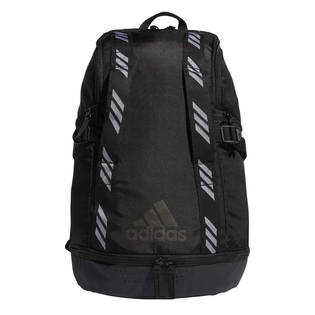 e5df6ceba3a Amazon.com : adidas Creator 365 Basketball Backpack, Black, One Size :  Clothing