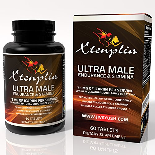 Male Enhancement Supplement, Energy & Stamina Pills - Xtenplia Ultra Natural Enlargement, Endurance and Strength Booster