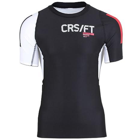 Reebok CrossFit pwr5 Compression Camiseta de entrenamiento para hombre