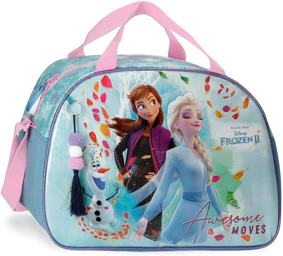 Frozen Awesome Moves Bolsa de Viaje, Azul