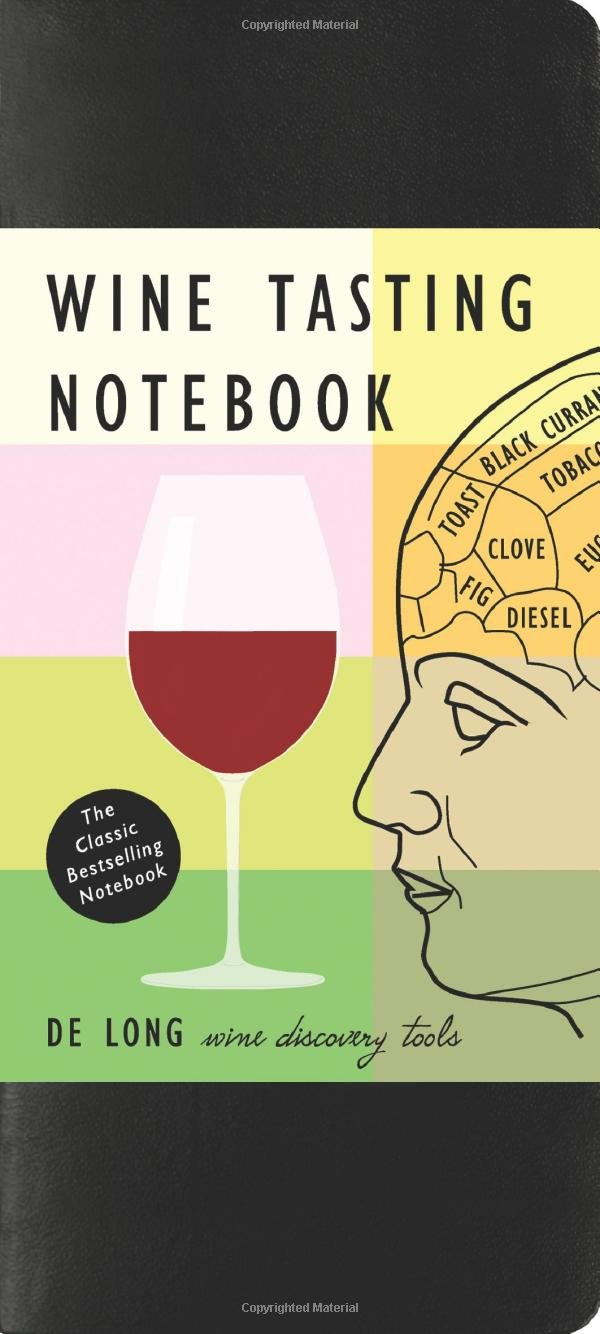 Wine Tasting Notebook Steve Long product image
