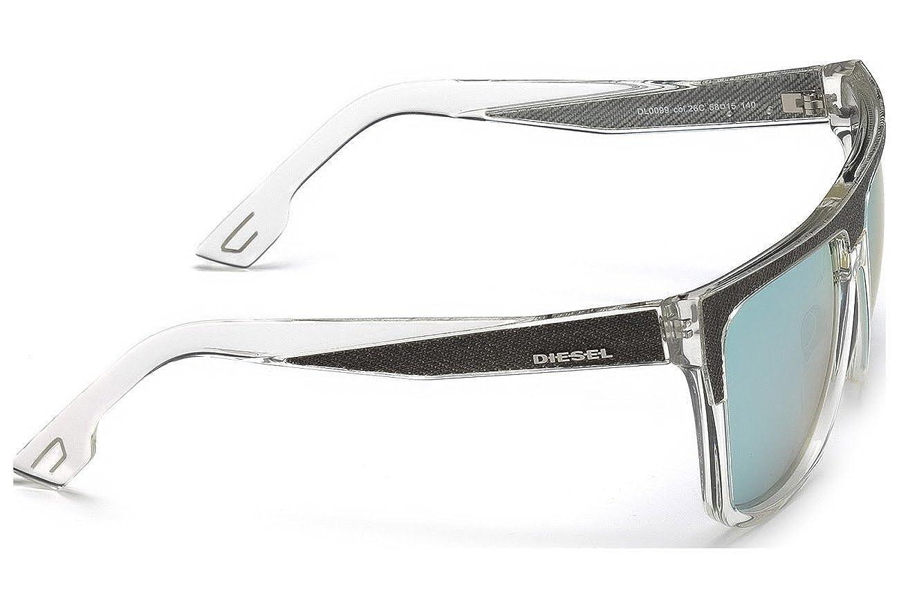 Gafas de sol Diesel DL0099 26C (crystal   smoke mirror)  Amazon.es  Ropa y  accesorios 9bf78a1cb3