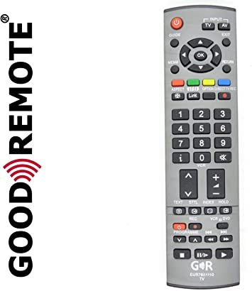 Mando a Distancia para televisor panorámico LED Plasma LCD – TX-32LXD60 – Reemplazo: Amazon.es: Electrónica