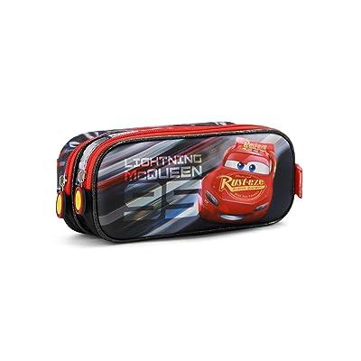 Karactermania Cars 3 Lightning Estuches, 22 cm, Negro: Equipaje