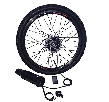 ELECYCLES 36V250W Kit de Conversión Eléctrica inalámbrica para Bicicleta EEKit Rueda Delantera Ebike Kit: Amazon.es: Deportes y aire libre